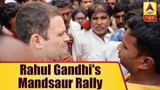 Rahul Gandhi& 39 s Mandsaur Rally Congress Supporters Reach Via Bullock Carts ABP News