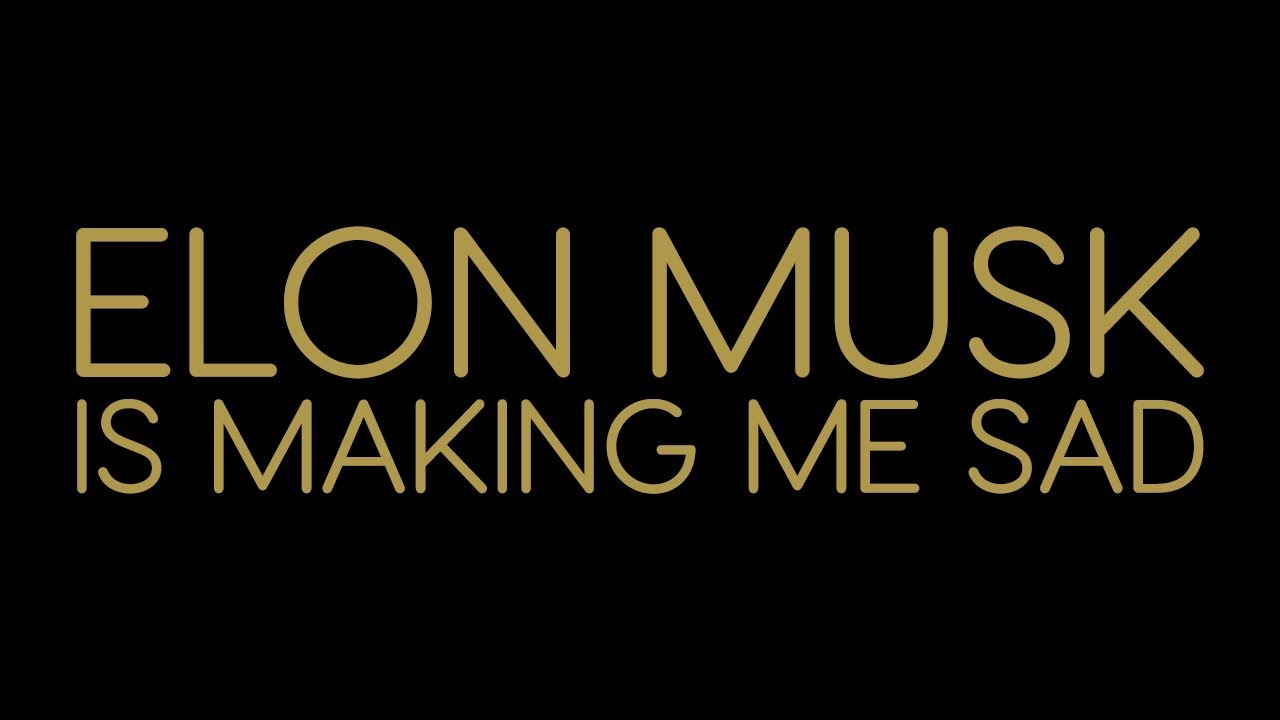 the rentals elon musk is making me sad official lyric video