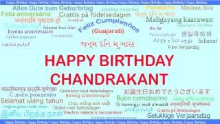 Chandrakant   Languages Idiomas - Happy Birthday
