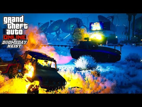 GTA Online Low Level Doomsday Heist & Outfits | Christmas Update!