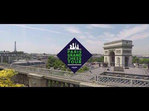 Inauguration du Paris Grand Chess Tour 2017