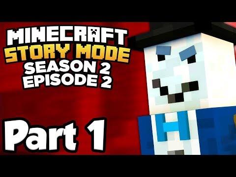 Minecraft: Story Mode Season 2 [Episode 2] Part 1 - EVIL SNOWMAN!!! (Full Gameplay)