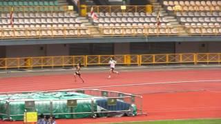 2015全港佛教運動會佛教覺光中學刷新女丙400米紀錄
