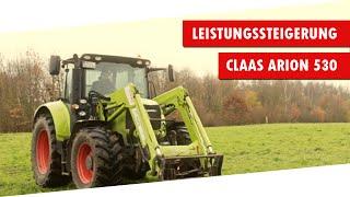 DTE Leistungssteigerung Claas Arion 530