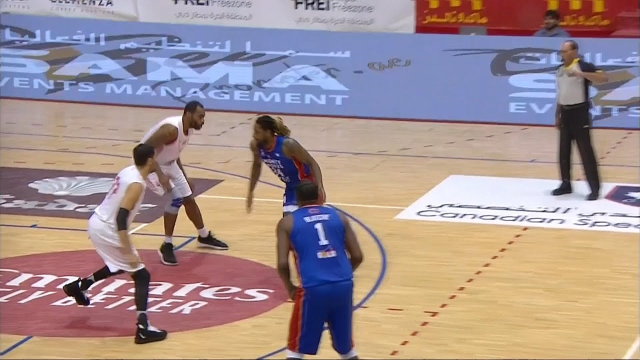 Qfinals Highlights Mighty Sports Vs Al Wathba Sc 31st Dubai International Basketball Championship Youtube
