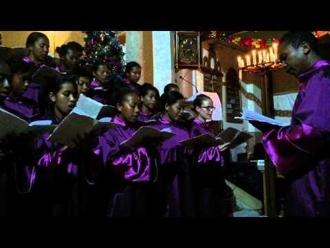 Kirkebesøk på Madagaskar - Korsang