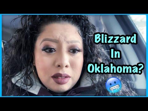 Blizzard in Oklahoma ? Finally going back to work | Mini Vlog