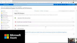 How to identify and diagnose apps with high CPU: Part 1 | Azure App Service