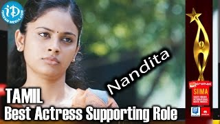 SIIMA 2014 Tamil - Best Actress in Supporting Role | Nandita | Ethir Neechal