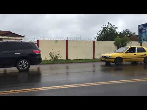 Driving through Monrovia, Liberia || Enjoy the ride