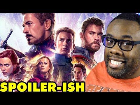 AVENGERS ENDGAME - Mild Spoiler Talk & Movie Review