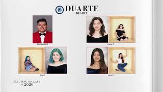 Saluting the Class of 2020 —Duarte High School  | NBCLA