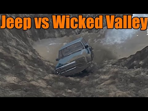 Spin Tires | Jeep VS Wicked Valley | Mod Map Showcase