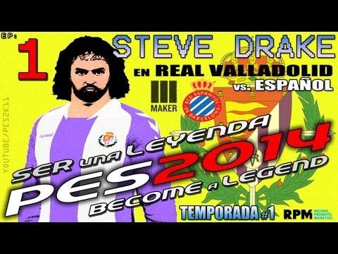 #1 | Ser Leyenda - Steve Drake | PES 2014