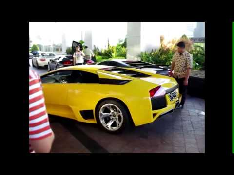Lamborghini At The Plaza Jakarta Indonesia Youtube