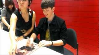 Greyson Chance Autograph Session in Malaysia