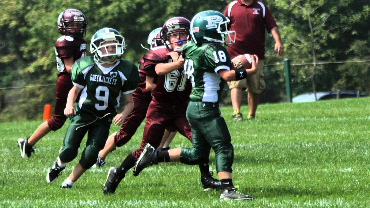 2013 Abington Raiders 80lbs v Pennridge Greenjackets, August 30 ...