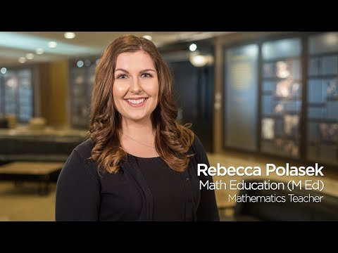 Rebecca Polasek: Math Education `17, University of Missouri