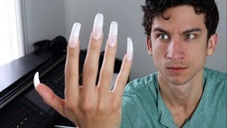 Uñas largas + Piano = 😱