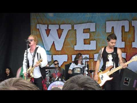 We The Kings - We'll Be A Dream LIVE HD HQ WARPED TOUR 2014