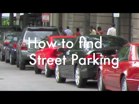 HOW TO FIND STREET PARKING
