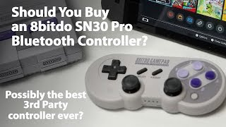 Should You Buy the 8bitdo SN30 Pro Super NES or Super Famicom-inspired Bluetooth Controller?