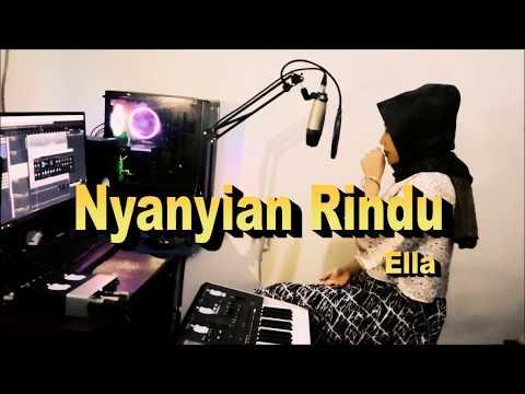 Cover NYANYIAN RINDU - ELLA  Dangdut Tanpa Koplo