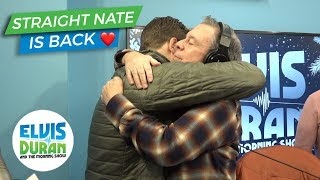 Straight Nate Is Back! | Elvis Duran Exclusive