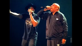 Run DMC Shut Down Barclay Center - LITERALLY! Christmas In Brooklyn