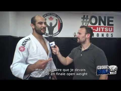 Interview de Bernardo Faria - ADCC 2015