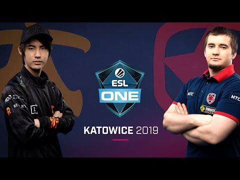 Fnatic vs Gambit - ESL One Katowice 2019 - Game 1
