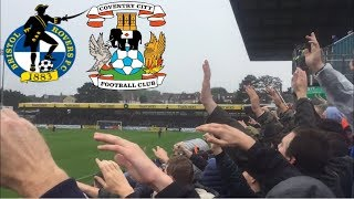 Matchday Experience Bristol Rovers VS Coventry City 22/09/2018