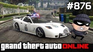 GTA 5 PC Online Po Polsku [#876] POLICJA czy ZŁODZIEJ? /z Bertbert & Skie