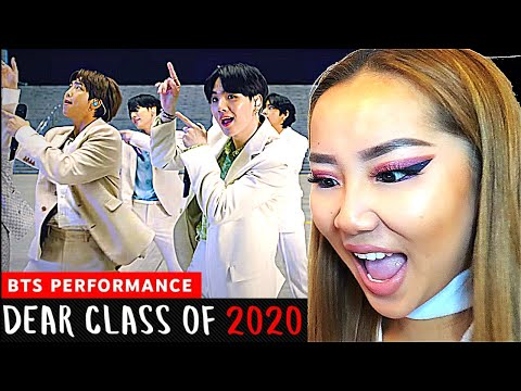 SO INSPIRATIONAL! 🙏 BTS 'DEAR CLASS OF 2020' Performance | REACTION/REVIEW