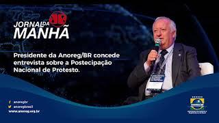 Presidente da Anoreg/BR concede entrevista para a Jovem Pan sobre Protesto
