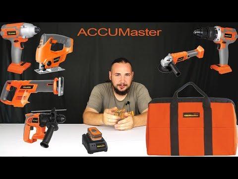 Серия аккумуляторного инструмента ACCUMaster от компании Энкор