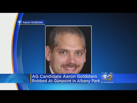 Attorney General Candidate Aaron Goldstein Robbed In Albany Park