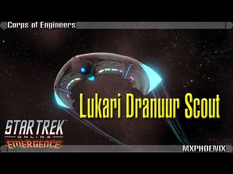 Lukari Dranuur Scout Ship [T6] | Starfleet Corps of Engineers Intel | Star Trek Online