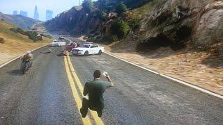 GTA 5 WTF Moment :v