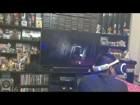 Terrible susto jugando Resident Evil Biohazard PS VR