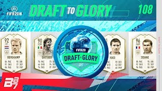 FULL ICON PICKS! NEVER SEEN ANYTHING LIKE THIS! | FIFA 20 DRAFT TO GLORY #108