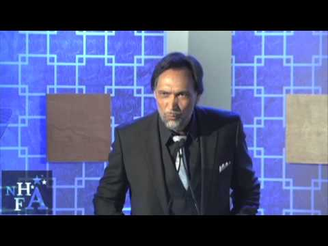 Jimmy Smits message to President Obama at the NHFAs 12 Annual Gala