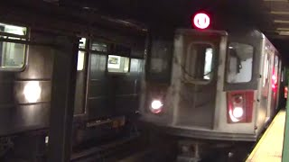 ᴴᴰ Rush Hour 2-3-4-5 Train Action at Atlantic Avenue