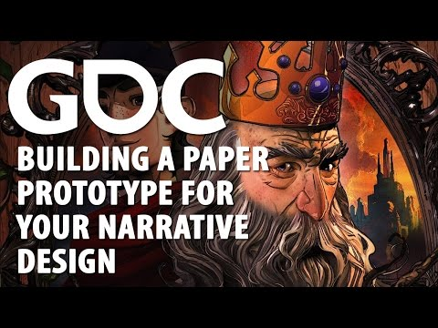 Building a Paper Prototype For Your Narrative Design