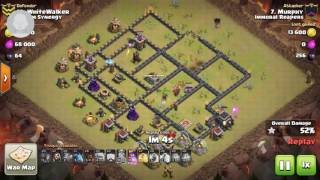 Stoned GoHoBo Clash of Clans attack (swag)