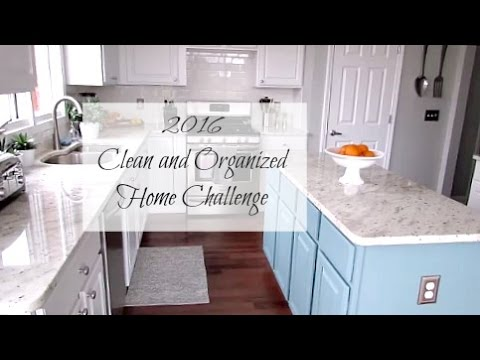how to keep kitchen clean and organized week 3 2016 clean and organized home challenge clean 9465