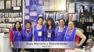 Expo Mercería y Manualidades WTC Cuidad de México. Mayo 2013