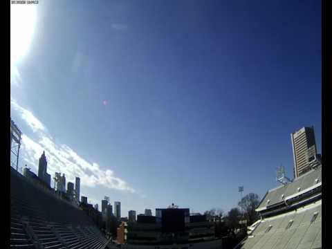 Cloud Camera 2017-02-25: Georgia Tech Bobby Dodd Stadium