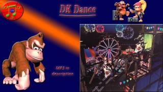 donkey kong remix dk dance disco train edit boss dkl gangplank galleon disco train