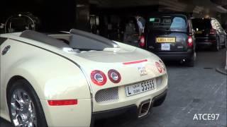 NEW BUGATTI VEYRON FROM DUBAI IN LONDON!!!